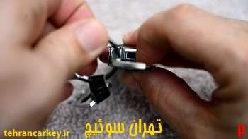 روش تعویض باتری ریموت سوئیچ کلید مرسدس بنز 2