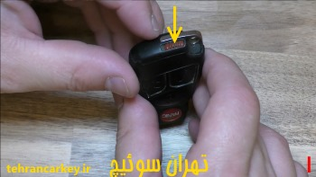 روش تعویض باتری سوئیچ ریموت و کلید مرسدس بنز 1
