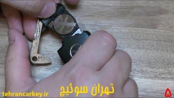 روش تعویض باتری سوئیچ ریموت و کلید مرسدس بنز 5