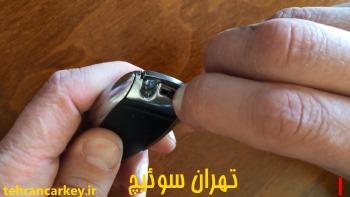 روش تعویض باتری کلید سوئیچ ریموت مرسدس بنز 2