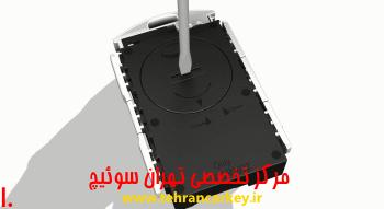 کلید و سوئیچ ولوو و روش تعویض باتری سوئیچ و ریموت ولوو XC90 10