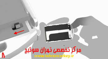 کلید و سوئیچ ولوو و روش تعویض باتری سوئیچ و ریموت ولوو XC90 8