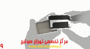 کلید و سوئیچ ولوو و روش تعویض باتری سوئیچ و ریموت ولوو XC90 9